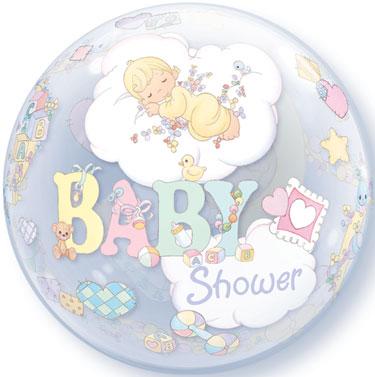 22 inch precious moments baby shower bubble balloon jayjay the