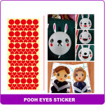 sticker sheet 7 red eyes B602E