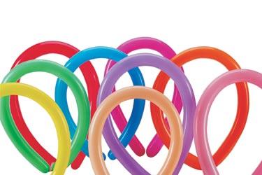 Qualatex 160 single colour 10 balloons