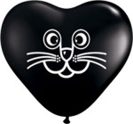 cat heart black