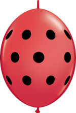 polka quicklink red