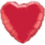 heart foil ruby