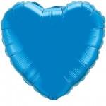 heart foil sapphire