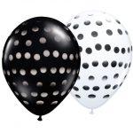 latex-round-11-black-and-white-polka-dot