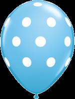 latex-round-11-pale-blue-big-polka-dots