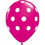 latex-round-11-wild-berry-big-polka-dots