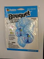 Bouquet box 1st birthday boy