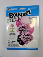 bouquet box birthday girl diamonds