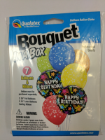 bouquet box shooting stars birthday