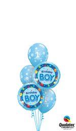 1st-birthday-boy-blue-Balloon-Bouquet