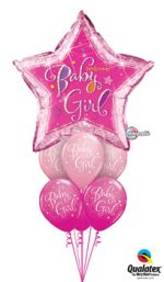 Welcome-Baby-Girl-Star-Balloon-Bouquet
