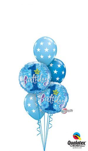 brilliant blue birthday