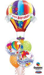 hot air balloon bday