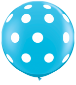 polka dot robins egg 3ft