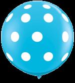 polka dot robins egg 3ft