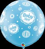 baby boy dots 3ft