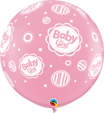 baby girl dots 3ft