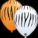 tiger zebra print