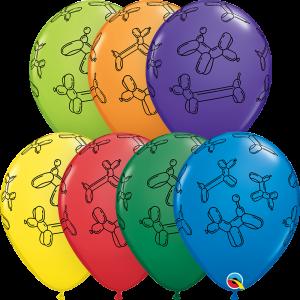 balloon dog latex