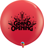 grand opening 3 foot red